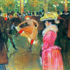 Ball in the Moulin Rouge by Toulouse-Lautrec