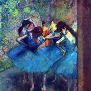 Dancers #1 by Degas