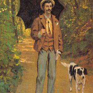 Monet - Portrait of Victor Jacquemont