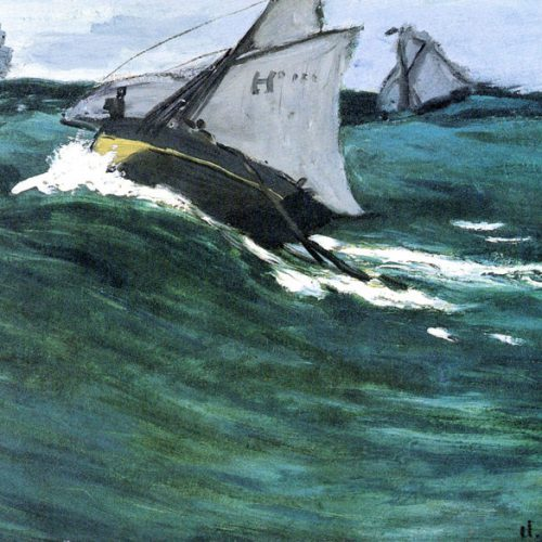 Claude Monet - the green wave
