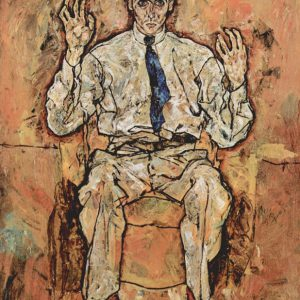 Portrait of Albert Paris von tersloh by Egon Schiele