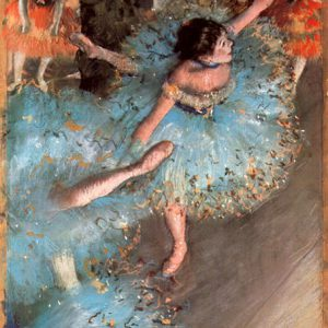 The Greens dancers by Degas
