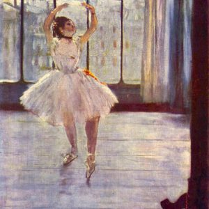 The dancer at the photographer by Degas