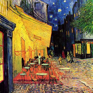 Van Gogh - The Cafe Terrace on the Place du Forum, Arles, at Night