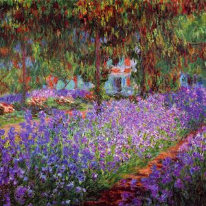 Monet - Garden in Giverny_mini