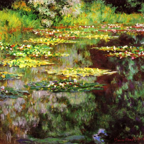 Monet - Sea rose pond_mini
