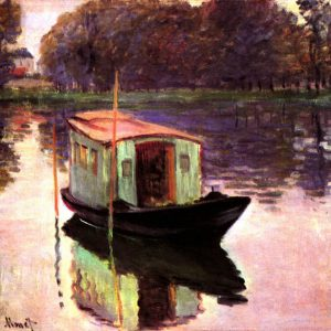 Monet - The Studio Boat_mini